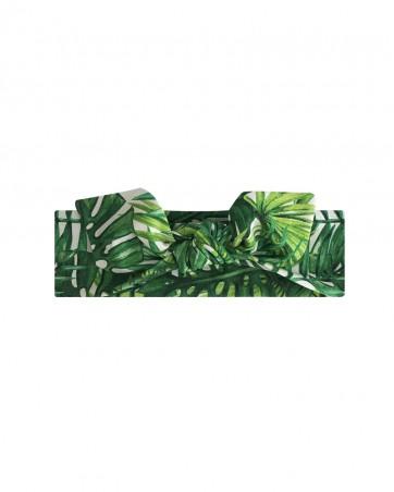 Opaska dla dziewczynki LILILO Tropikalne liście