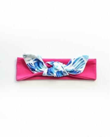 Headband Bryza na różu