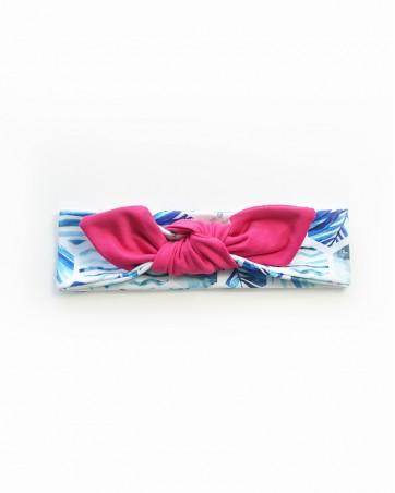 Headband Róż na bryzie