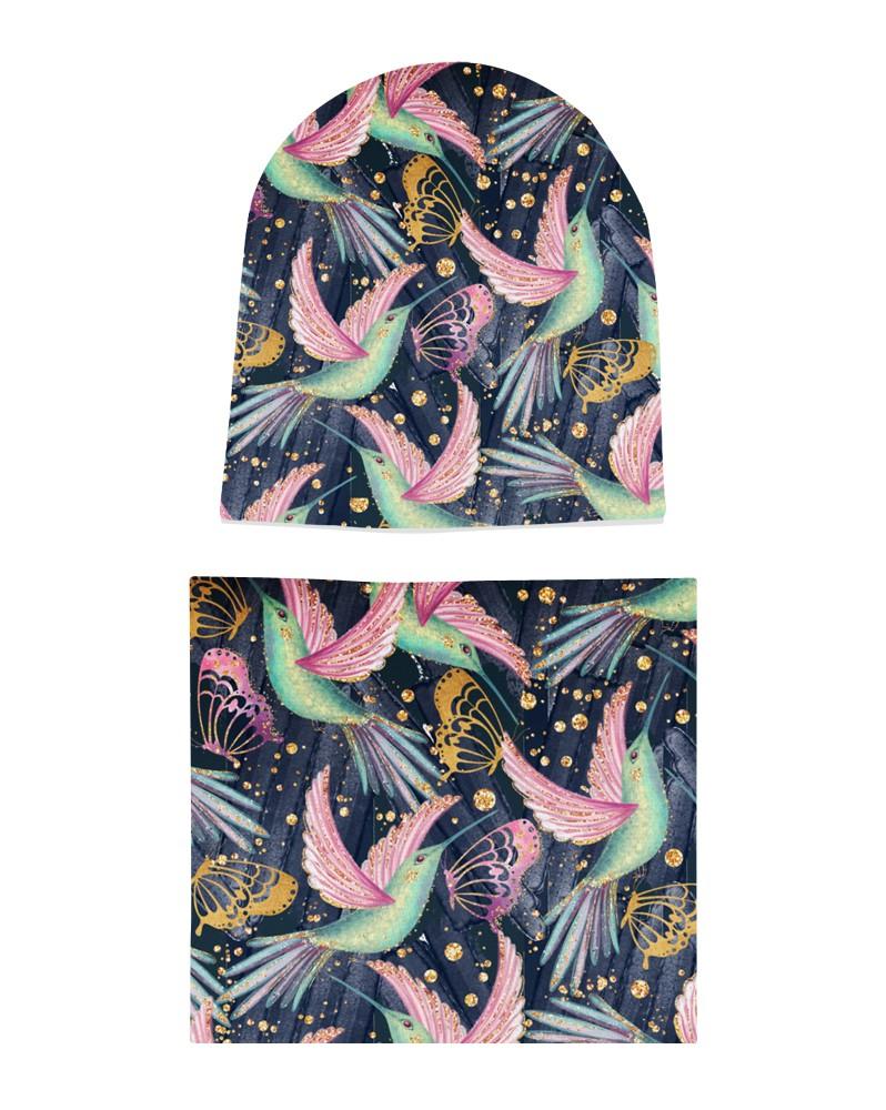 Komplet czapka i komin dla dziewczynki LILILO Miss Fairy