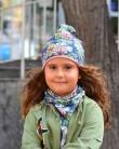 Komplet czapka i komin dla dziewczynki LILILO Daisy