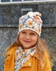 Komplet czapka i chusta dla dziewczynki LILILO Poppy