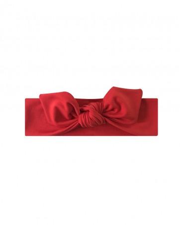 Opaska dla dziewczynki LILILO Świąteczna czerwona