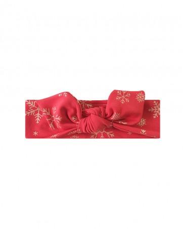 Headband LILILO Świąteczna śnieżka