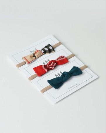 Opaski na gumce LILILO pakiet świąteczny 3