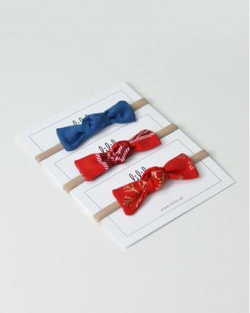 Opaski na gumce LILILO pakiet świąteczny 4