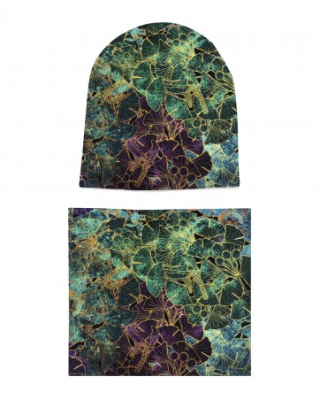 Komplet czapka i komin dla dziewczynki LILILO Vigo