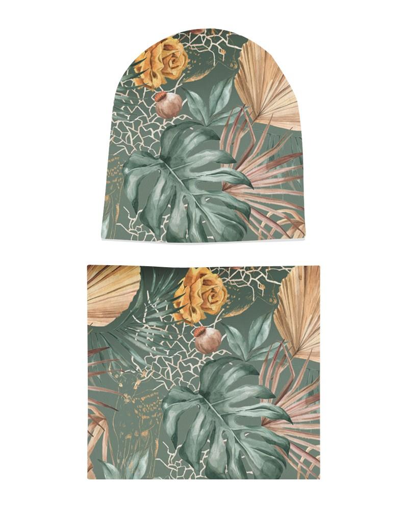 Komplet czapka i komin dla dziewczynki LILILO Santa Cruz