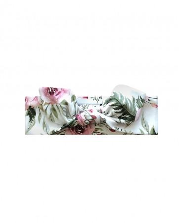 Headband LILILO Pastelowa Magnolia rozmiar 42 cm- od ręki