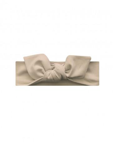 Opaska dla dziewczynki LILILO Beżowa rozmiar 44 cm-od ręki