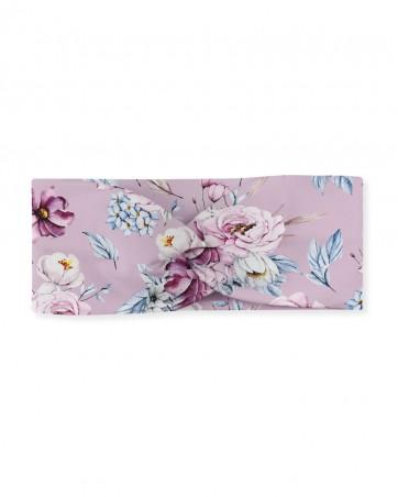 Opaska przeplatana dla dziewczynki LILILO Orchidea