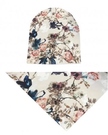 Komplet czapka i chusta dla dziewczynki LILILO Primo