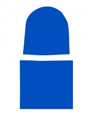 Komplet czapka i komin dla chłopca LILILO Indigo