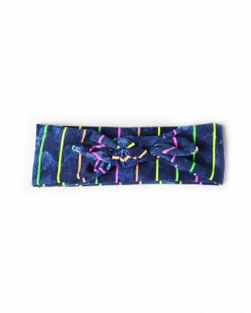Headband Neonowe Paski