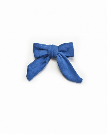 Pinwheel bow Granatowa