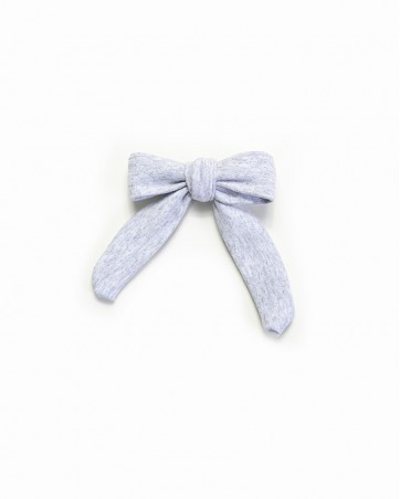 Pinwheel bow Szara