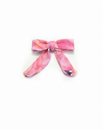 Pinwheel bow Zakochane Flamingi