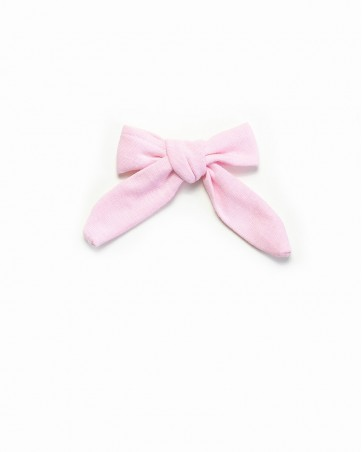 Pinwheel bow Różowa