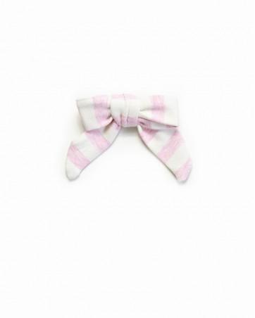 Pinwheel bow Różowa Fala