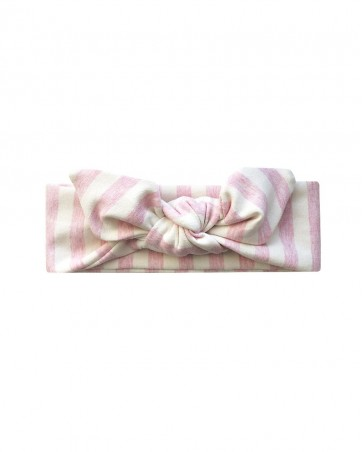 Headband Różowa Fala