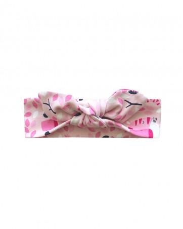 Headband Różowe lwiątka