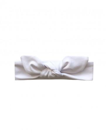 Headband LILILO Baby biała na chrzest