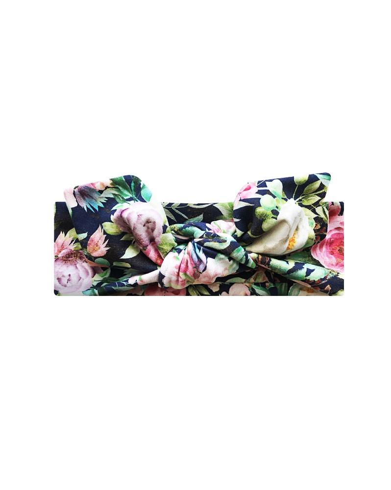 Opaska Kolorowe Kwiaty