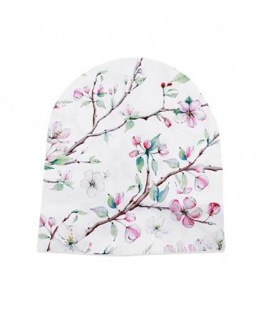 Czapka Kwiaty Jabłoni