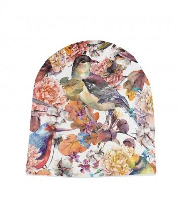 Czapka Jesienne Ptaki