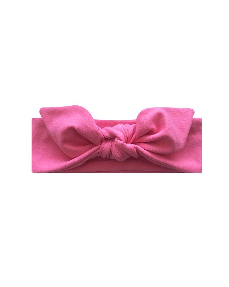Opaska dla dziewczynek Róż Fuksjowy