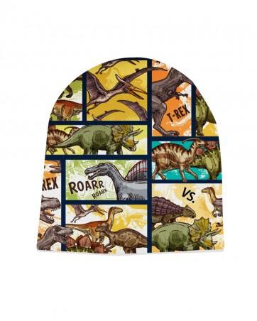 Czapka Dinozaury