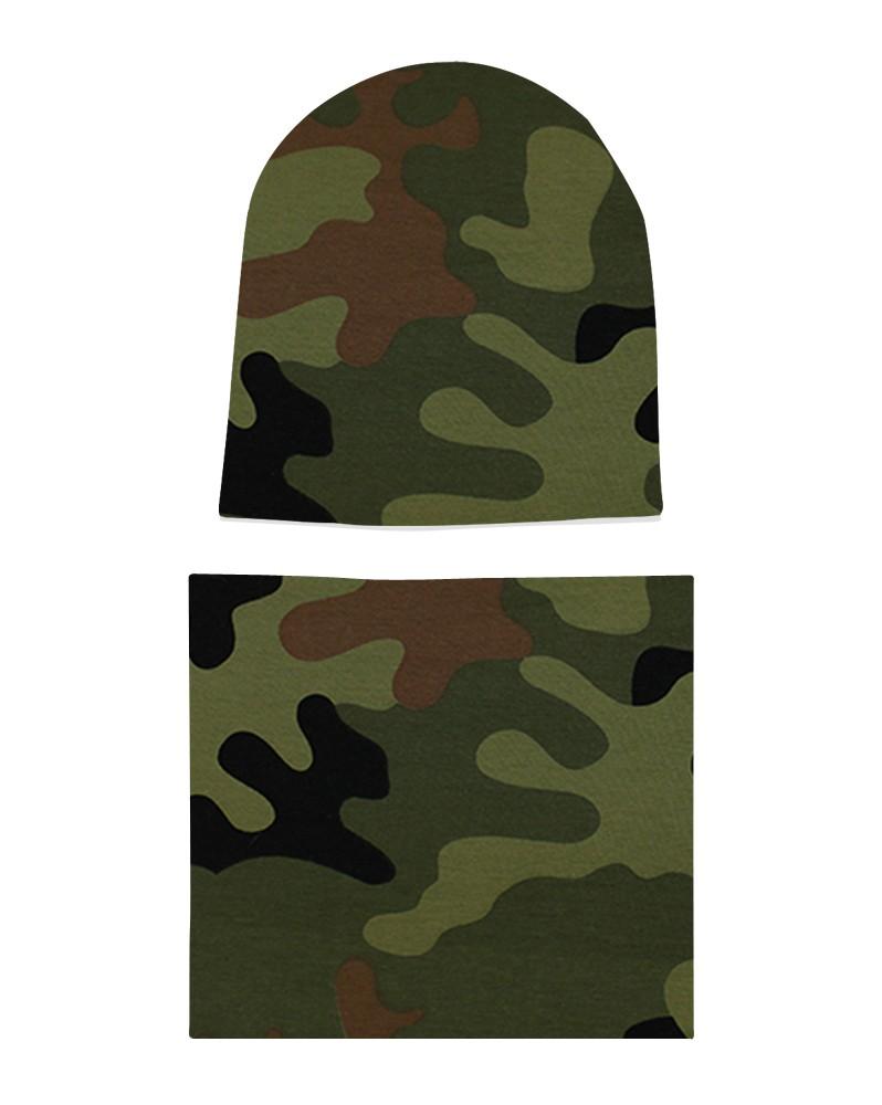 Komplet czapka i komin Moro