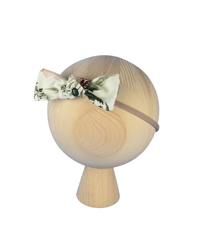 Opaska na gumce Pastelowa Magnolia