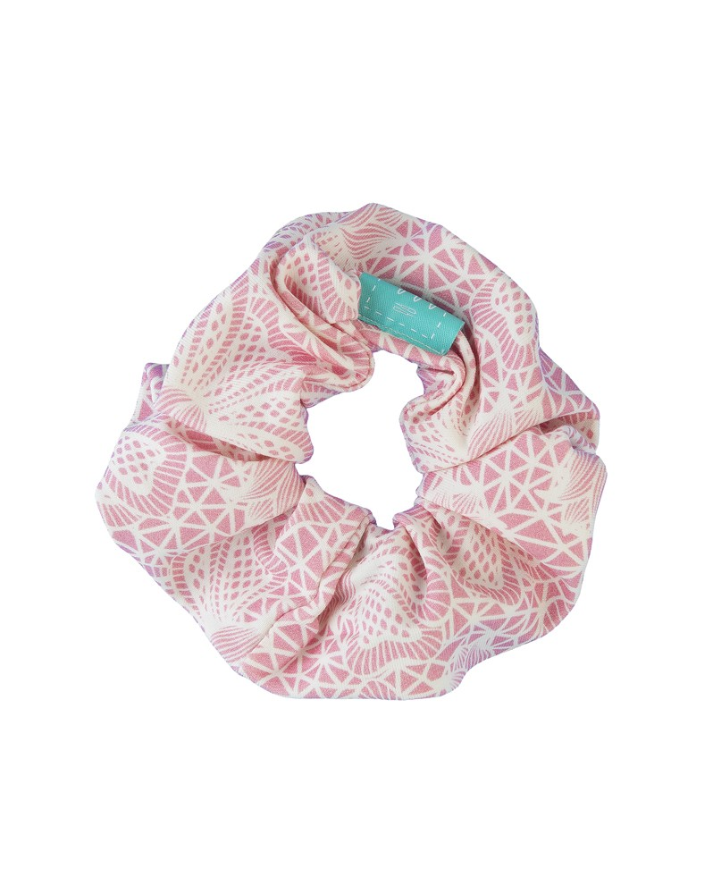 Frotka do włosów LILILO Różowa Koronka