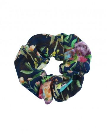 Gumka do włosów Peonia na Granacie